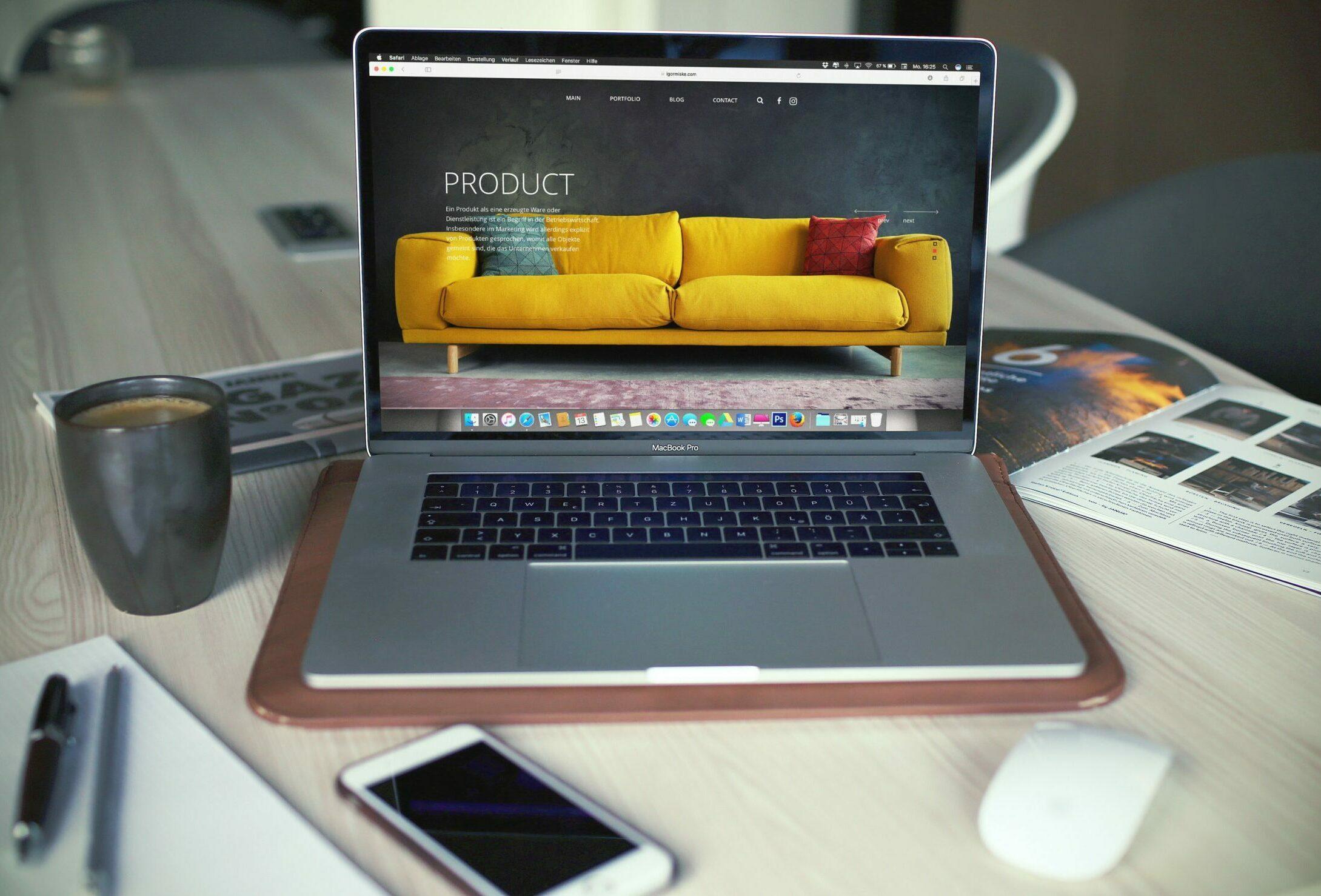 e-commerce website design in Plymouth, Devon